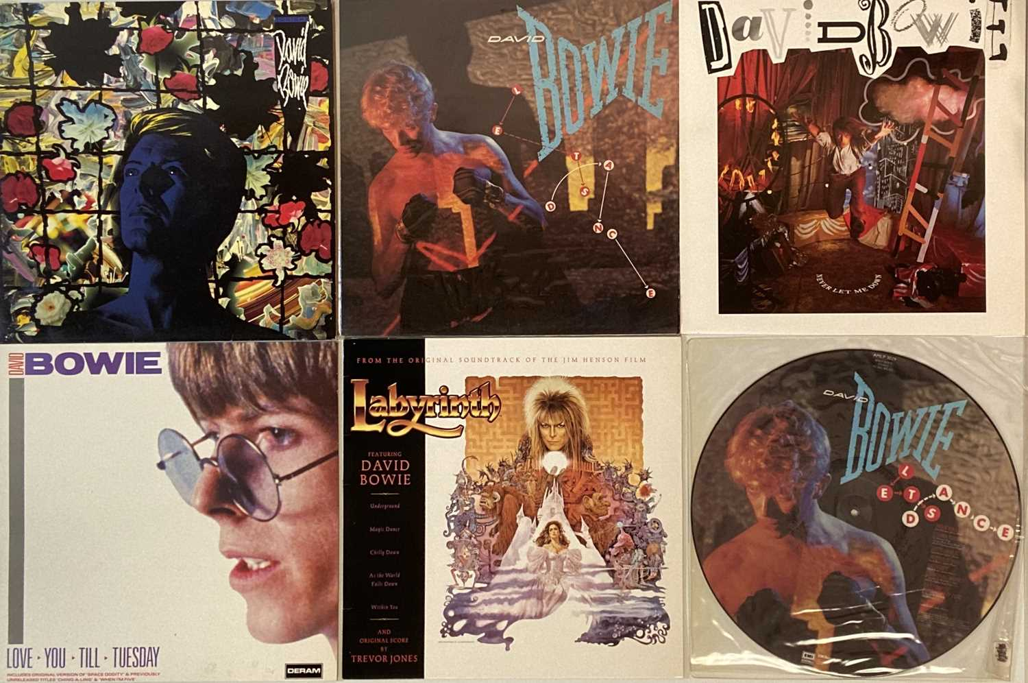 DAVID BOWIE - UK PRESSING LP COLLECTION - Image 3 of 7