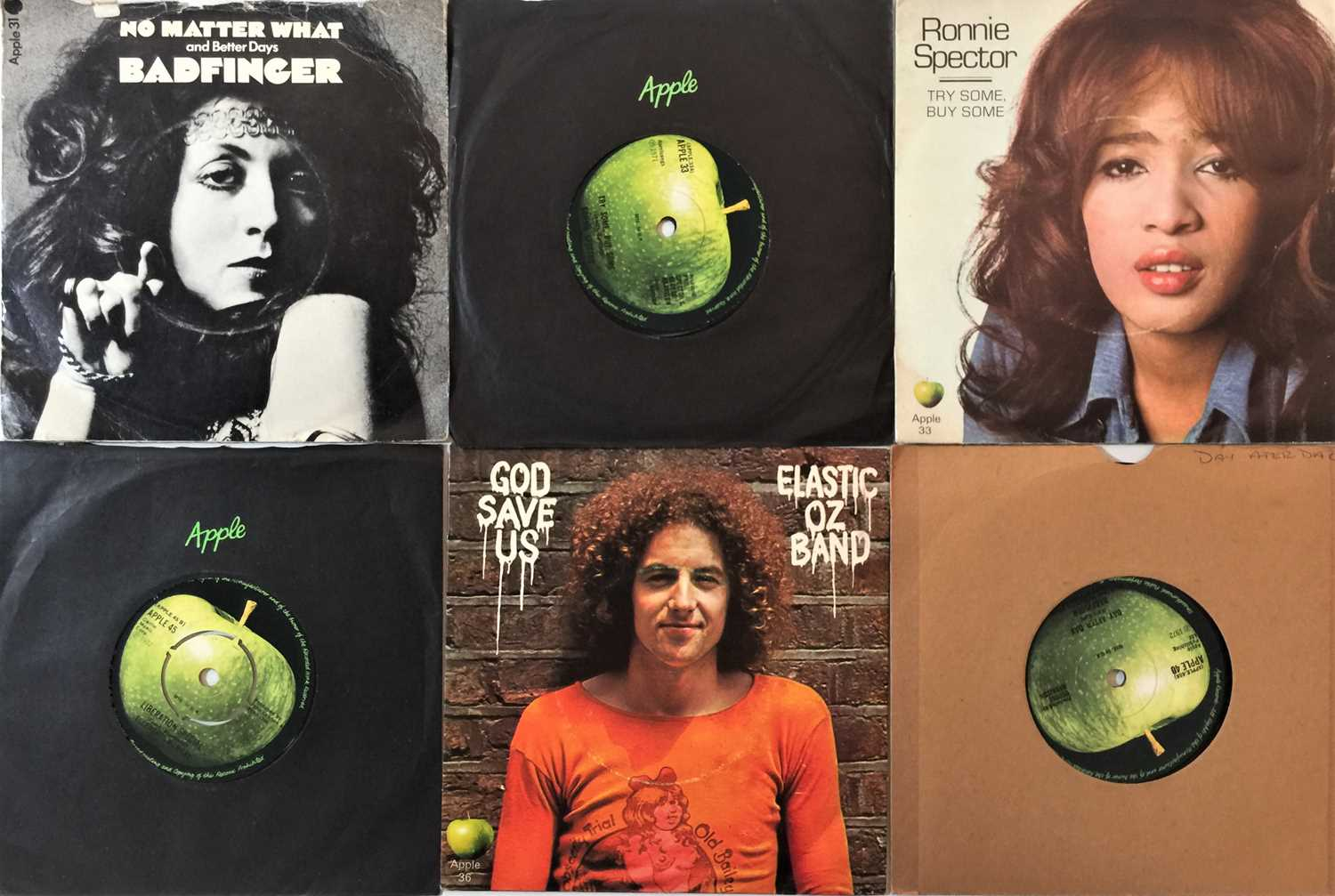 """THE BEATLES/ APPLE ARTISTS - 7"""" COLLECTION - Image 3 of 3"""