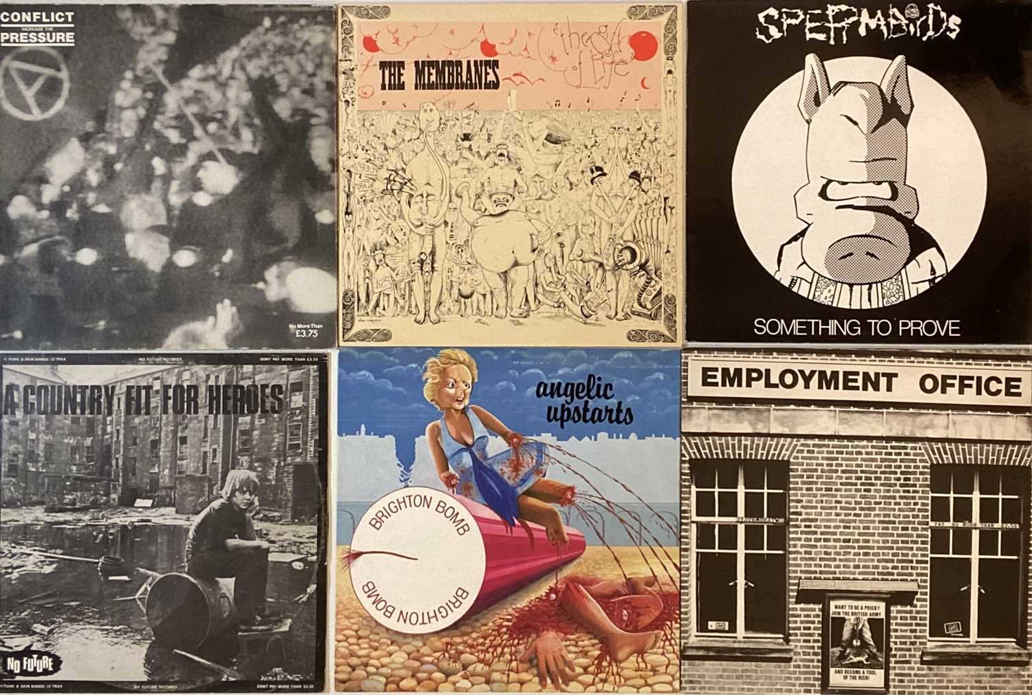 """PUNK/OI/NEW WAVE - LPs/12"""" - Image 2 of 4"""