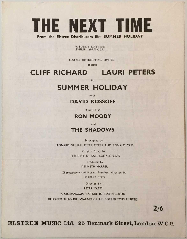 CLIFF RICHARD/ THE SHADOWS - SUMMER HOLIDAY LP (ELSTREE STUDIOS - RARE PROMO) - Image 8 of 8