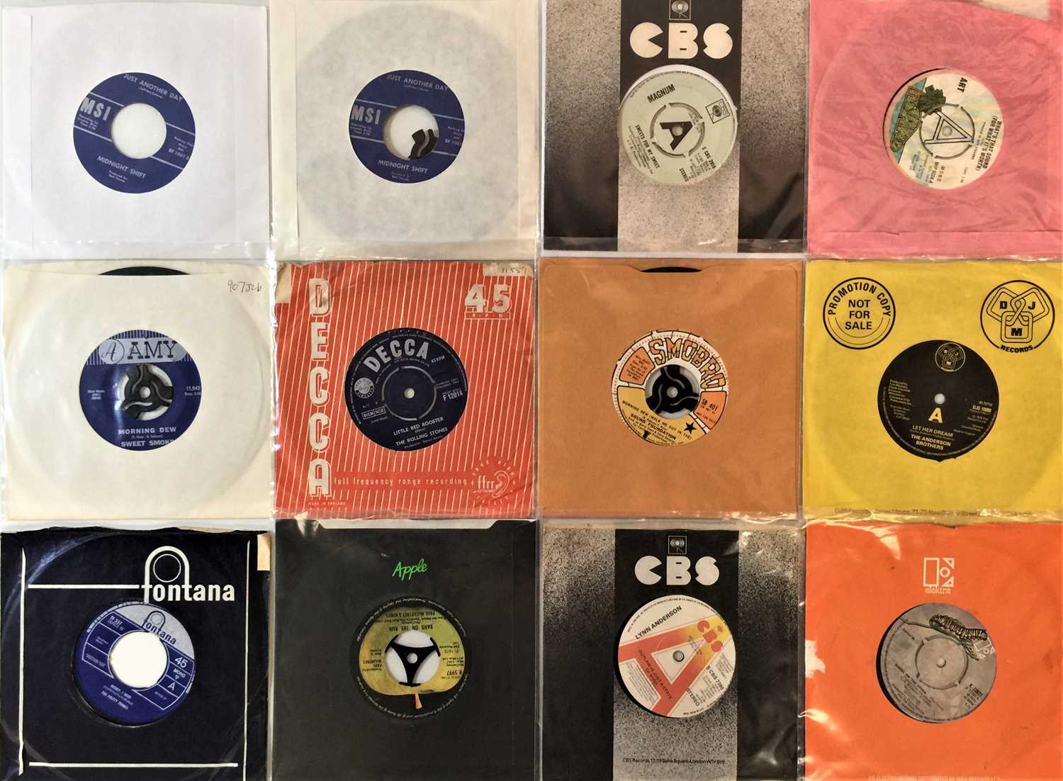 """60s/80s CLASSIC ROCK & POP 7"""" COLLECTION"""