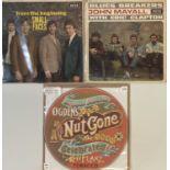SMALL FACES/JOHN MAYALL & ERIC CLAPTON - 60s ORIGINAL LPs