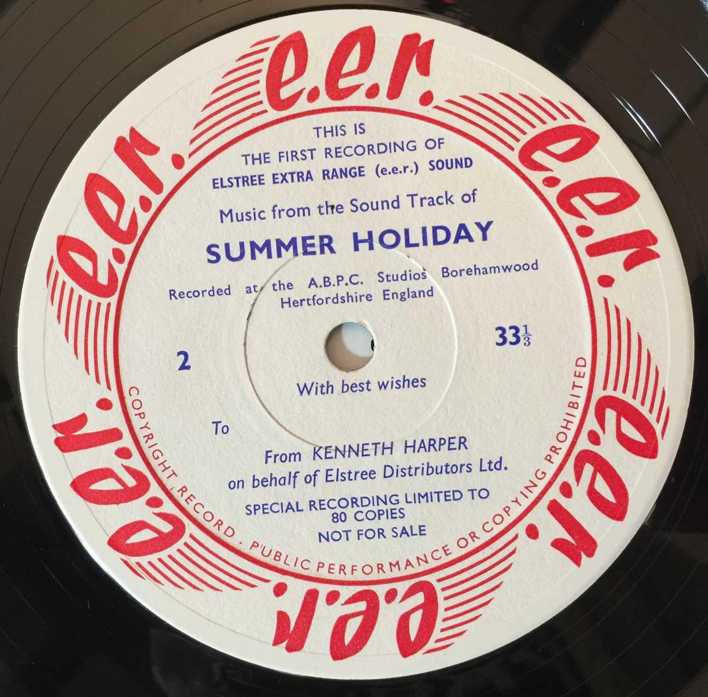 CLIFF RICHARD/ THE SHADOWS - SUMMER HOLIDAY LP (ELSTREE STUDIOS - RARE PROMO) - Image 5 of 8