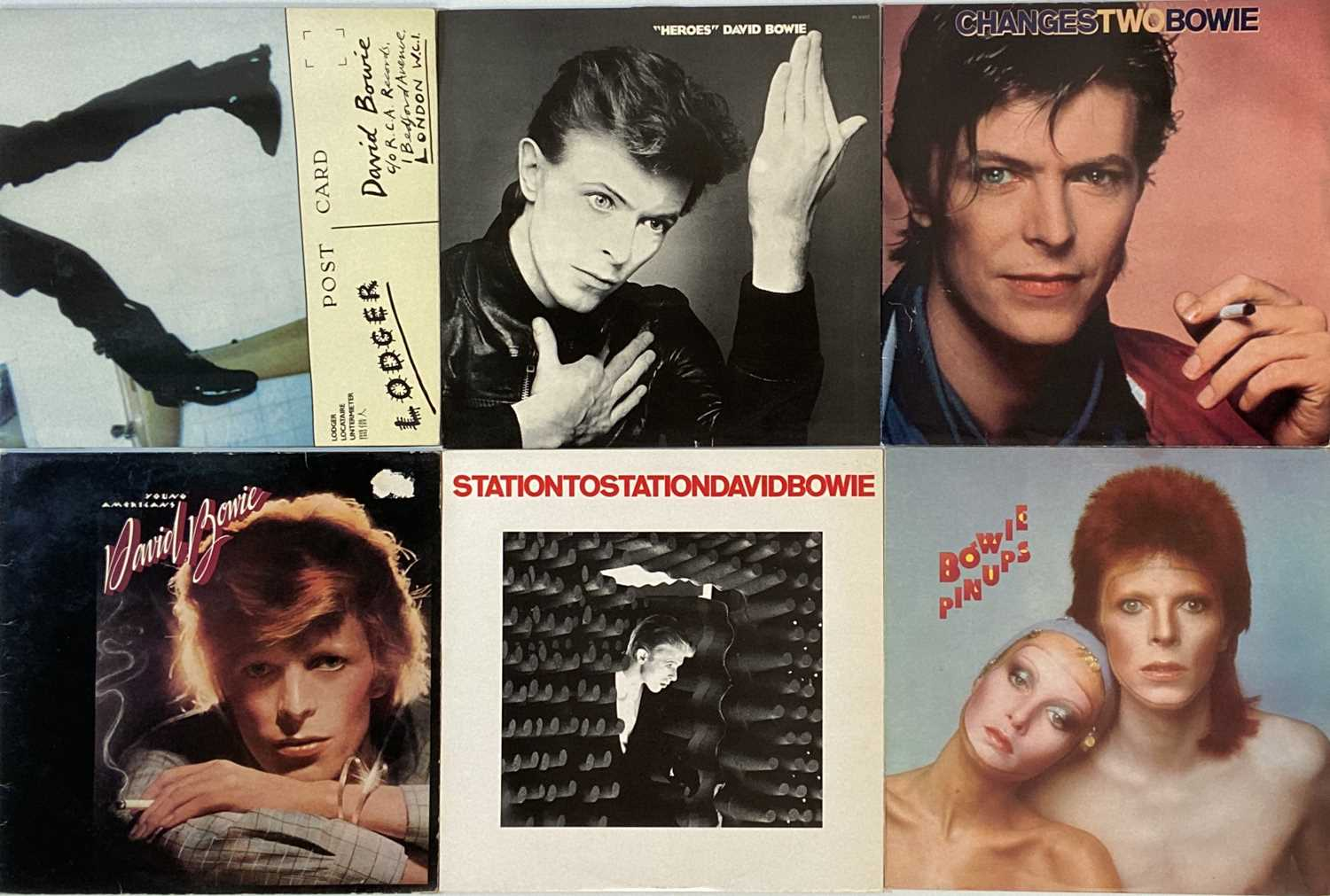 DAVID BOWIE - UK PRESSING LP COLLECTION - Image 2 of 7