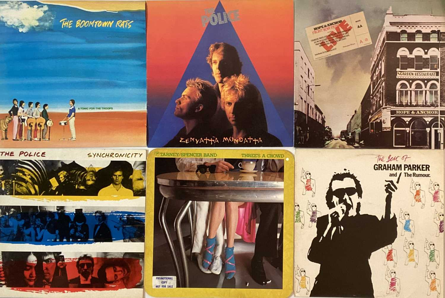 """PUNK/ WAVE/ COOL POP/ GLAM - LPs/ 12"""" - Image 5 of 6"""