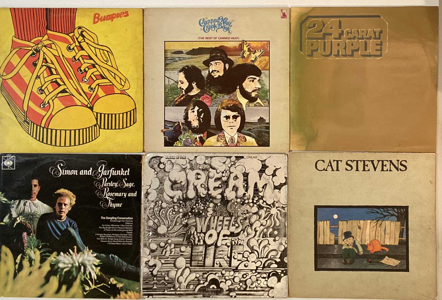 """CLASSIC ROCK AND POP - LPS AND 7"""". - Image 3 of 5"""