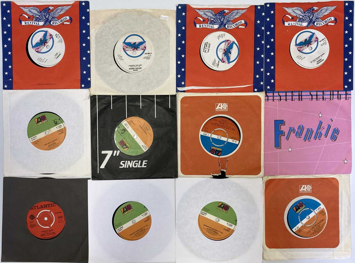 """EMBER/ATLANTIC/REVIVAL & RELATED LABELS - 7"""" COLLECTION - Image 2 of 2"""