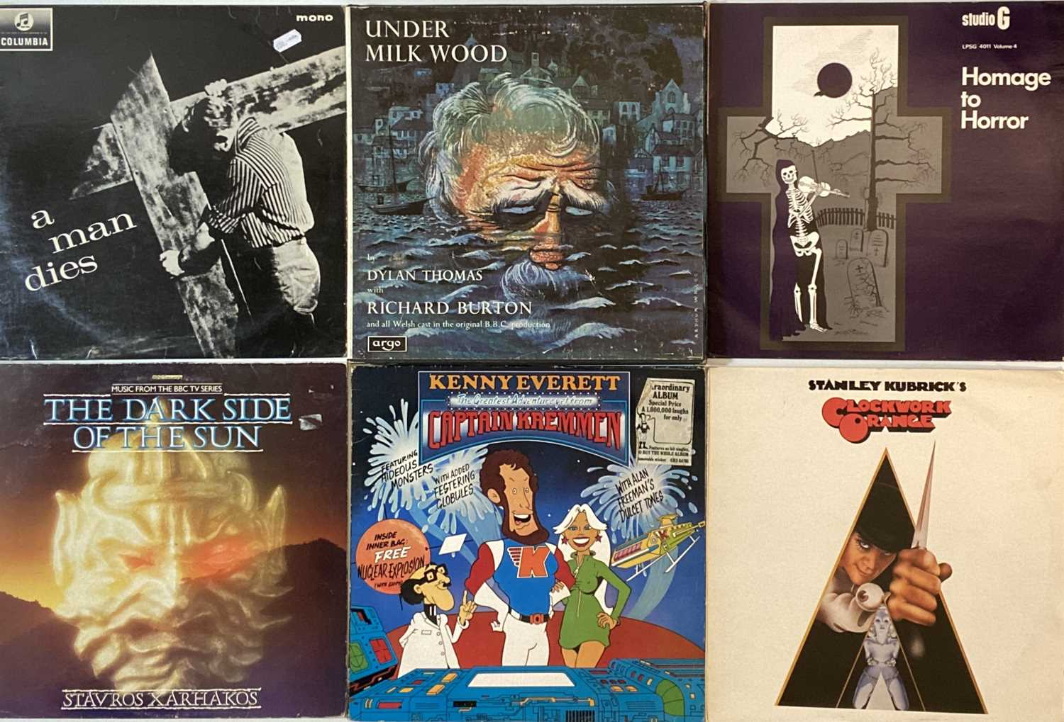 SOUNDTRACKS/ STAGE & SCREEN/ COMEDY/ SPOKEN WORD - LPs