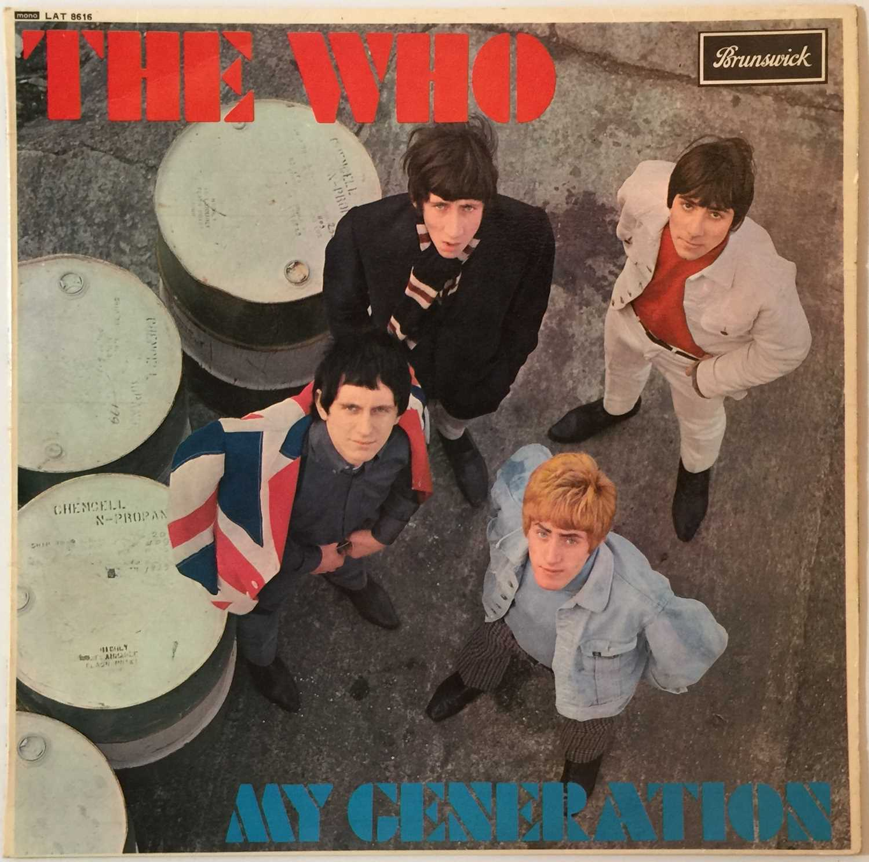 THE WHO - MY GENERATION LP (ORIGINAL UK PRESSING - BRUNSWICK LAT 8616 - Image 2 of 5