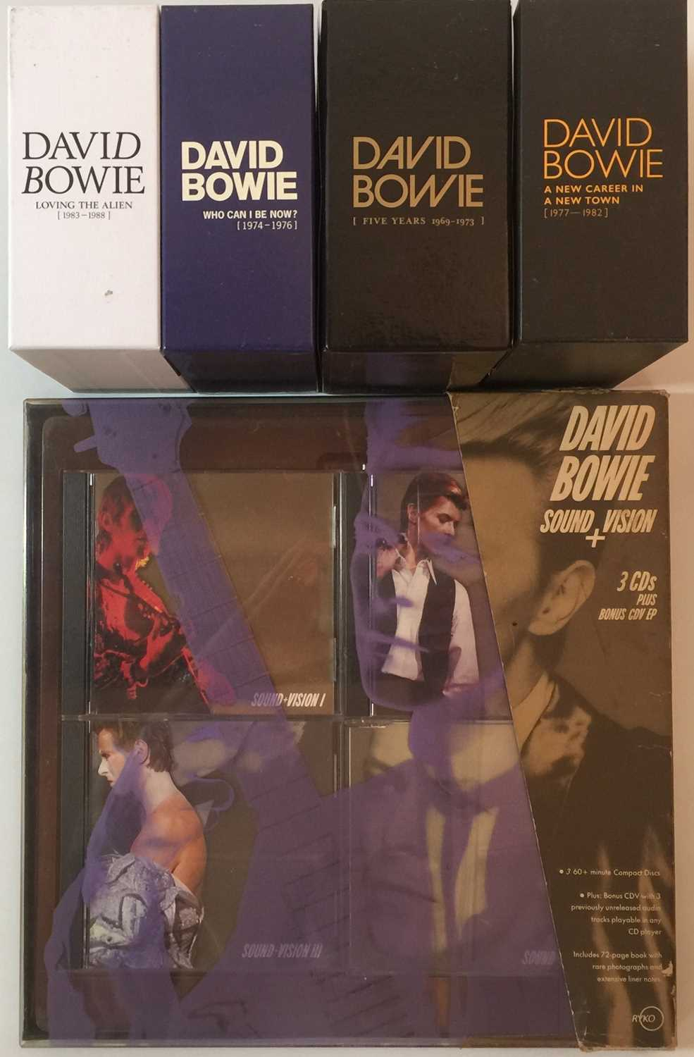 DAVID BOWIE - LIMITED EDITION CD BOX SET RELEASES