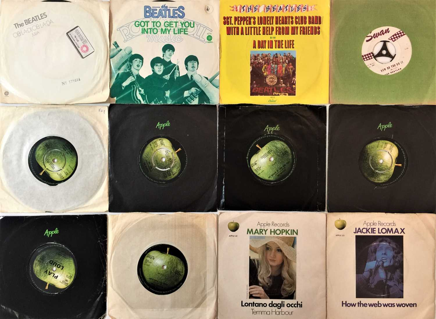 """THE BEATLES/ APPLE ARTISTS - 7"""" COLLECTION - Image 2 of 3"""