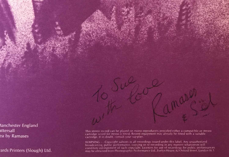 RAMASES - SPACE HYMNS SIGNED LP (UK VERTIGO SWIRL - 6360 046) - Image 4 of 6