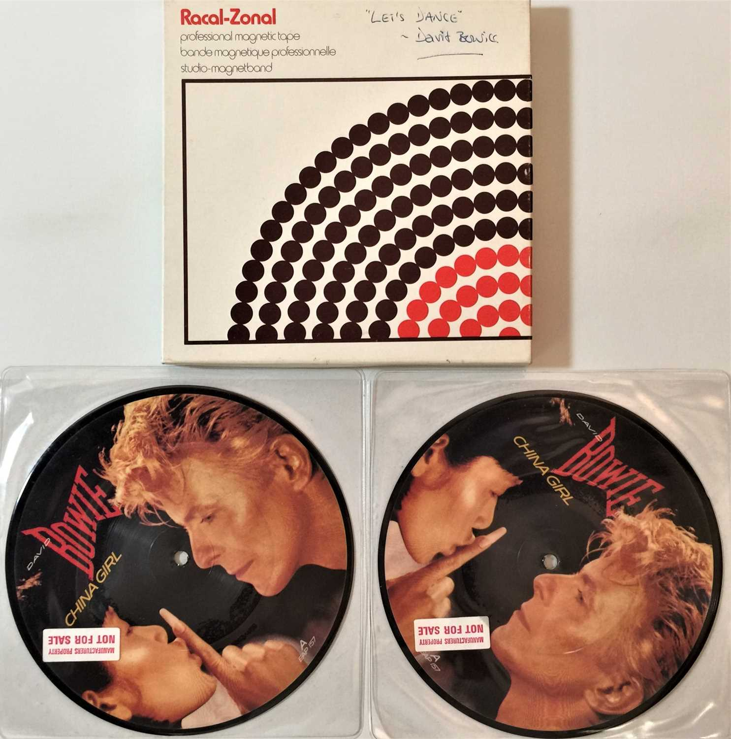 """DAVID BOWIE - REEL TO REEL/ 7"""" PICTURE DISC RARITIES"""