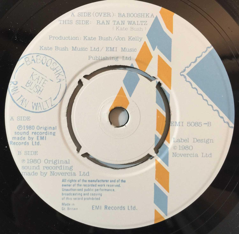 "KATE BUSH - THE SINGLE FILE 1978 ~ 1983 7"" BOX SET (KBS 1) - Image 5 of 5"