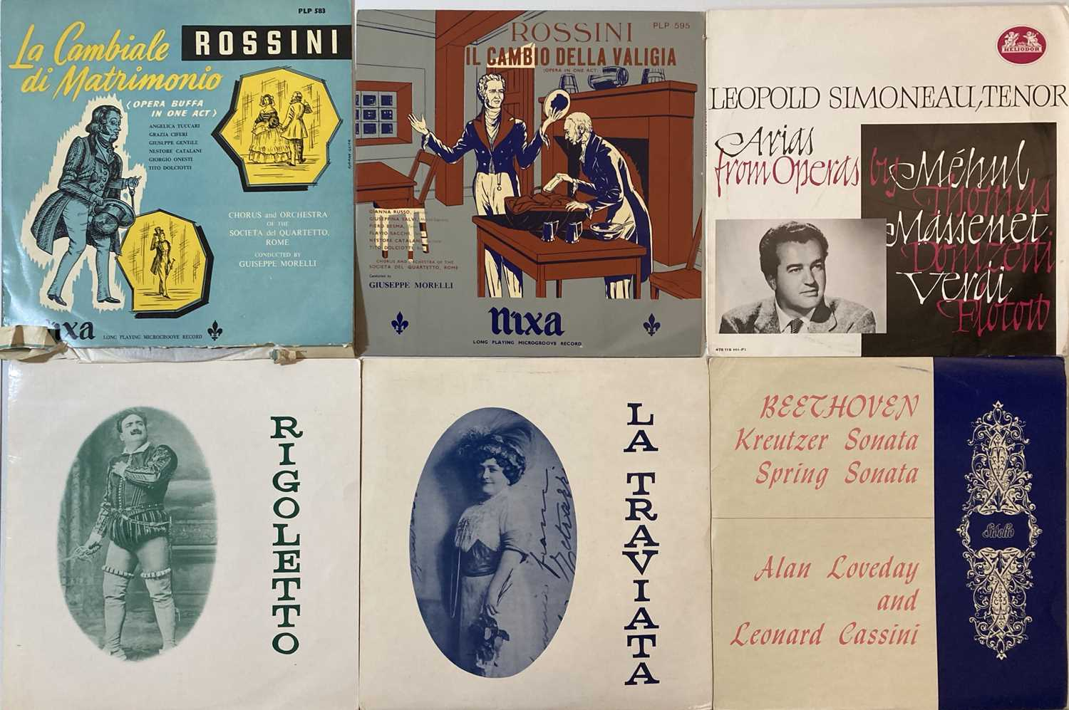 CLASSICAL - LP/78 COLLECTION - Image 5 of 12