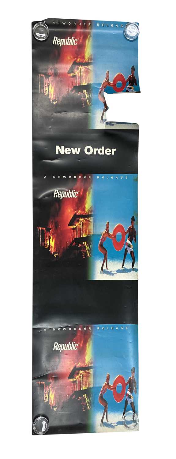 NEW ORDER & JOY DIVISION RELATED POSTERS