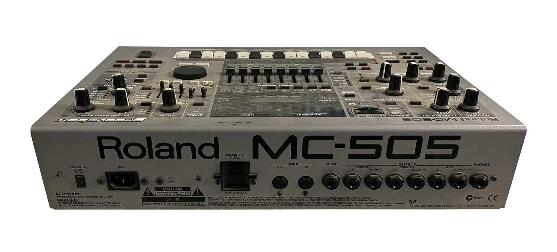 YAMAHA MD45 MULTITRACK MD RECORDER & ROLAND MC-505 GROOVEBOX - Image 5 of 5