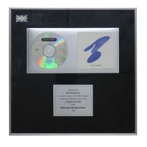 NEW ORDER (THE BEST OF) NEW ORDER AWARD DISC