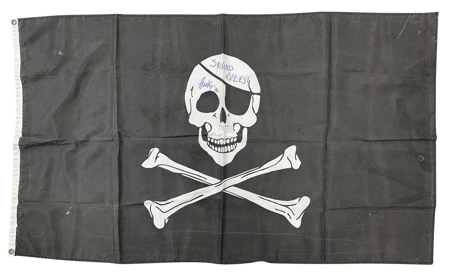 FLAGS FROM GIGS USED TO DRAPE OVER SPEAKERS - Image 2 of 3