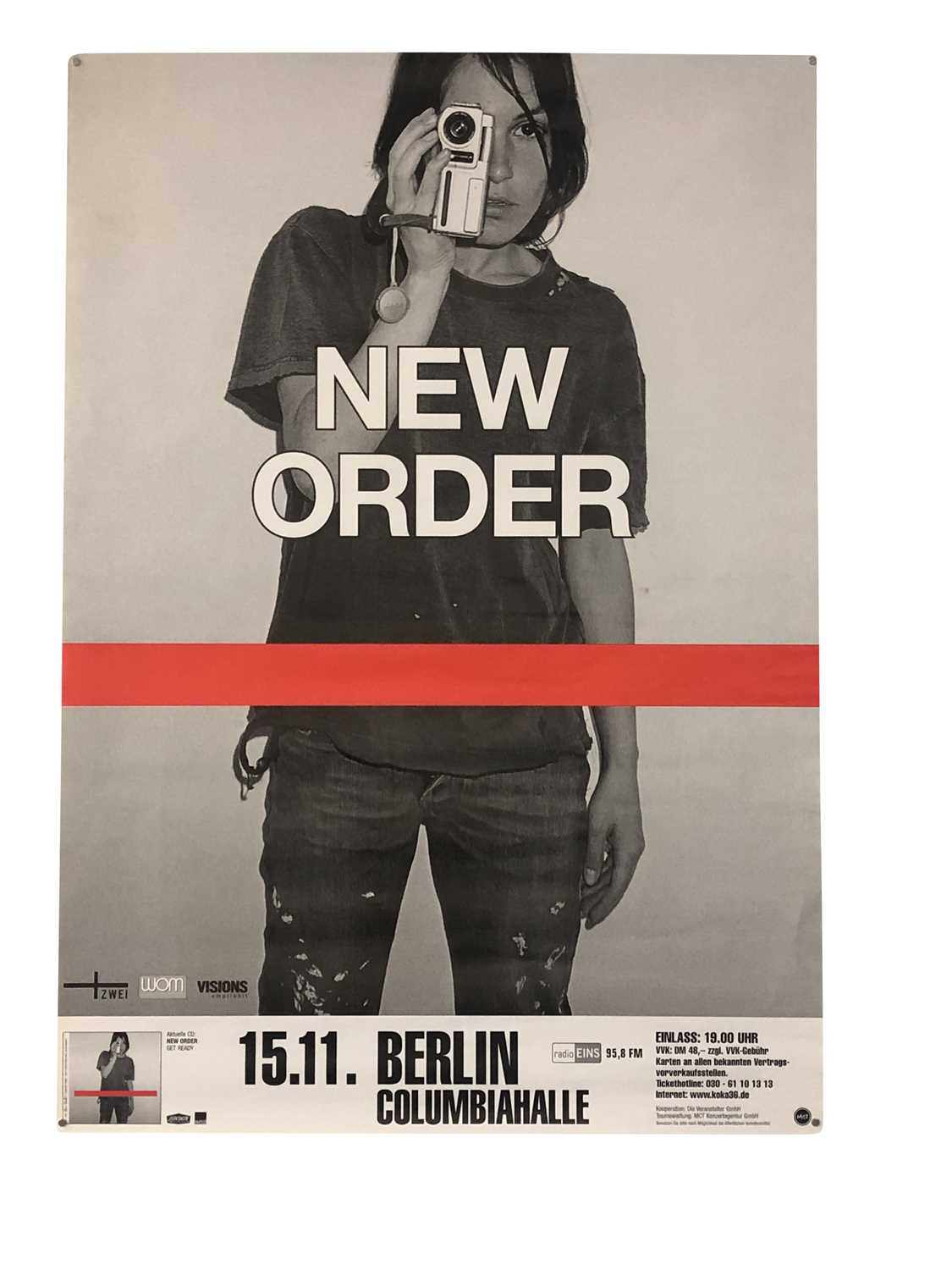NEW ORDER PROMO & GIG POSTERS COLLECTION - Image 7 of 7