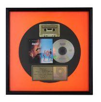 NEW ORDER GOLD RIAA AWARD FOR REPUBLIC
