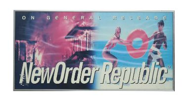 NEW ORDER LONDON RECORDS PROMO POSTER GIFT