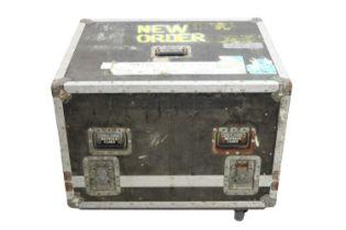 NEW ORDER SPEAKER/AMP/EQUIPMENT FLIGHT CASE