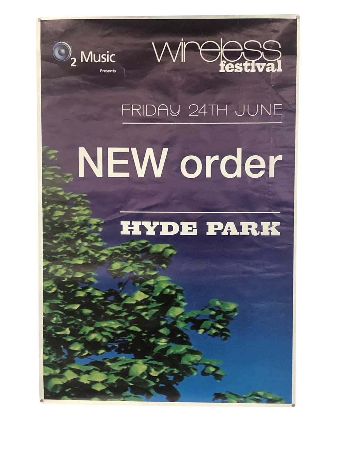 NEW ORDER PROMO & GIG POSTERS COLLECTION - Image 6 of 7