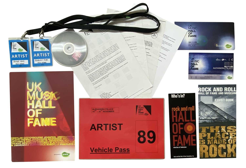 MOJO AWARDS 2007 & UK MUSIC HALL OF FAME AWARDS 2005 - Image 2 of 2
