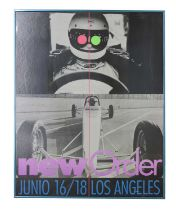 NEW ORDER JUNE 16/18 LOS ANGELES POSTER