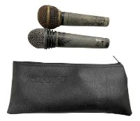 TWO NEW ORDER MICROPHONES
