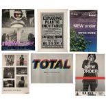NEW ORDER PROMO & GIG POSTERS COLLECTION