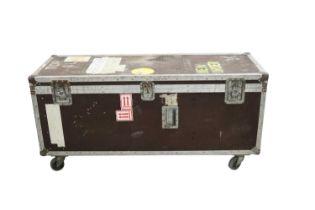 NEW ORDER BASS GUITAR COFFIN FLIGHT CASE