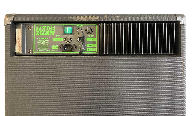 TRACE ELLIOT SERIES 6 GP12 COMBO AMPLIFIER 1215 & FLIGHT CASE - Image 4 of 5