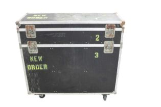 NEW ORDER LARGE 2 SECTION FLIGHT CASE