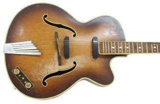 HOFNER SEMI-ACOUSTIC GUITAR '60s