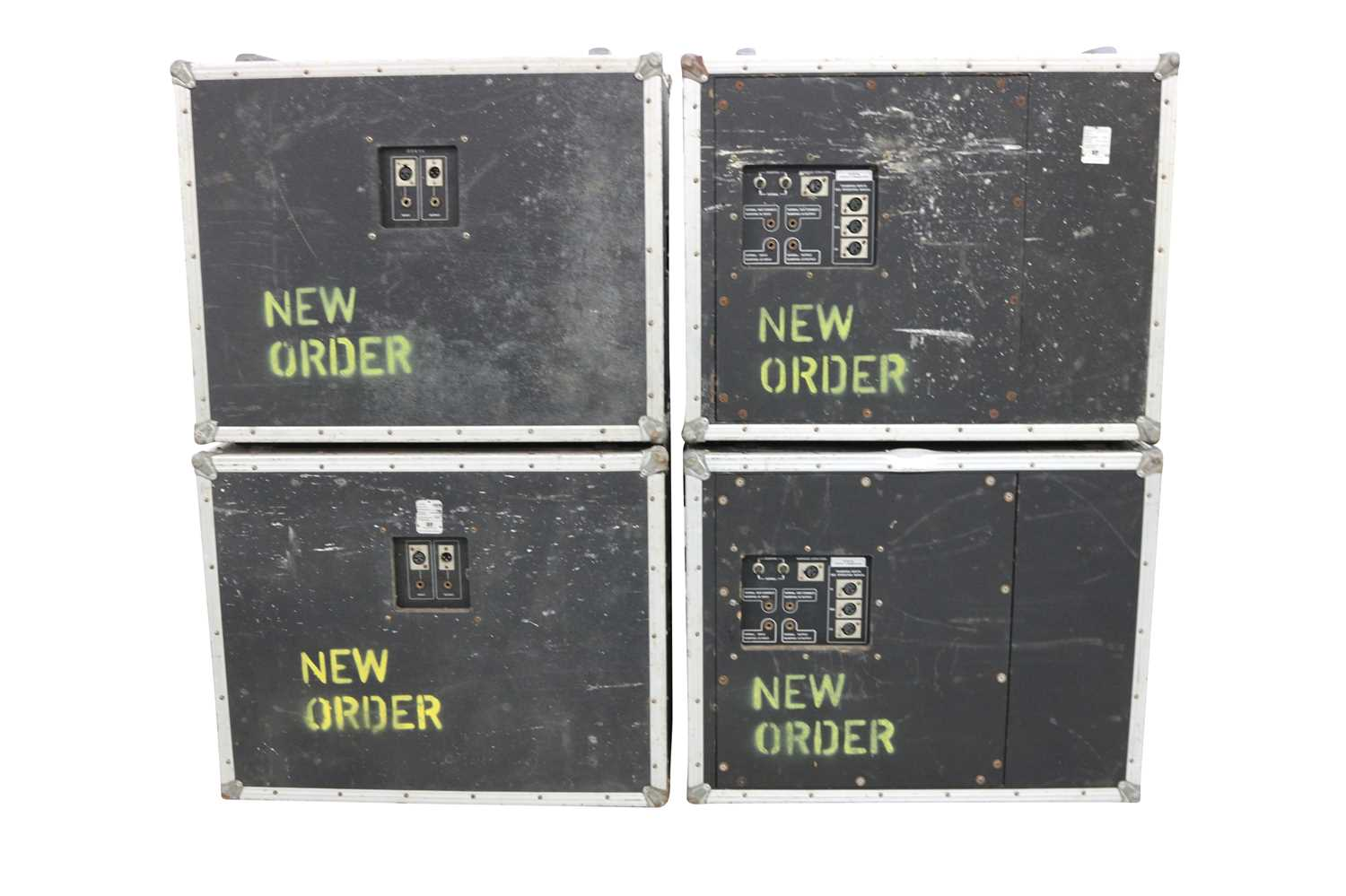 NEW ORDER BASS SPEAKERS FLIGHT CASES x5 - Image 5 of 7