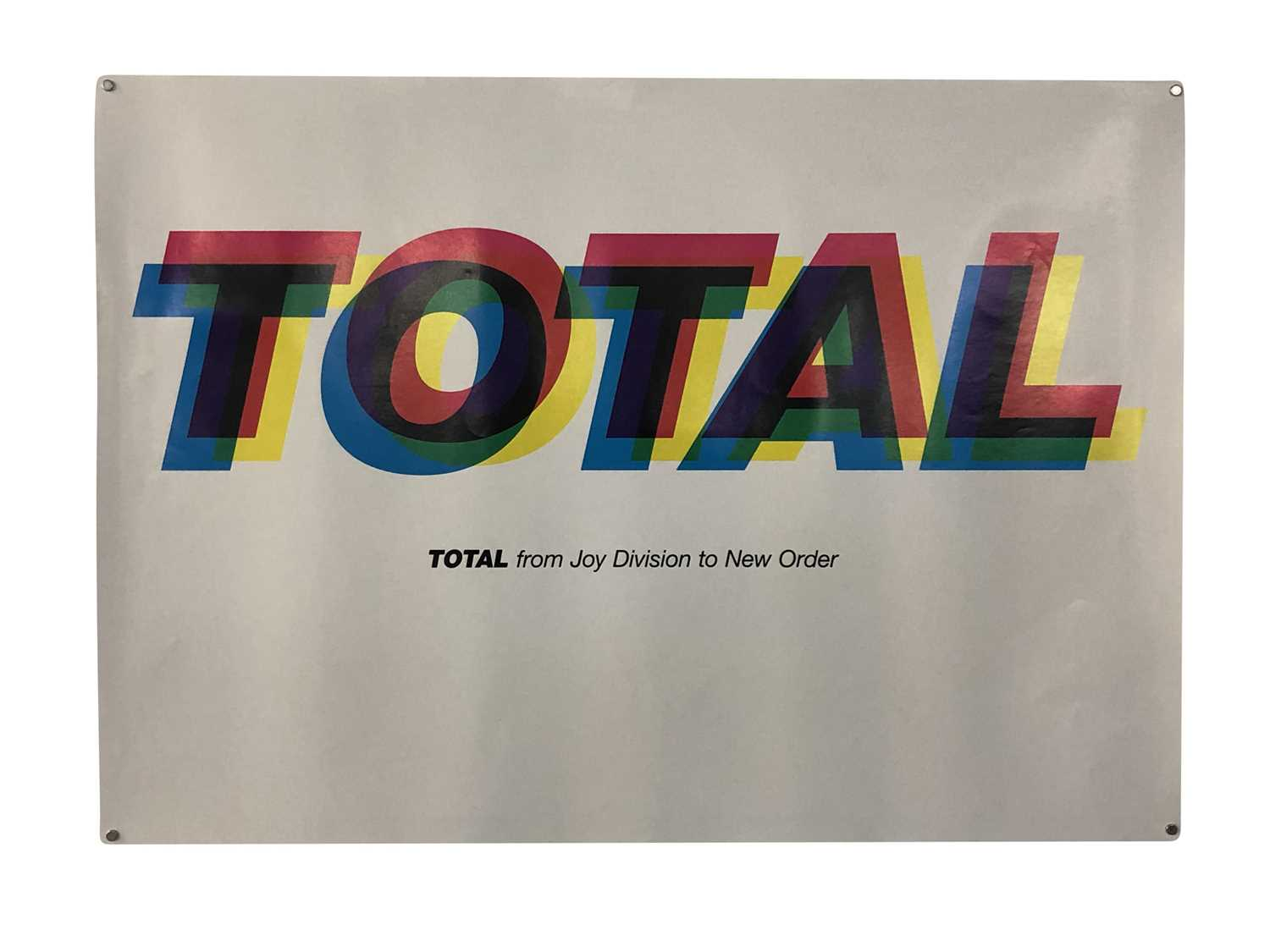 NEW ORDER PROMO & GIG POSTERS COLLECTION - Image 5 of 7