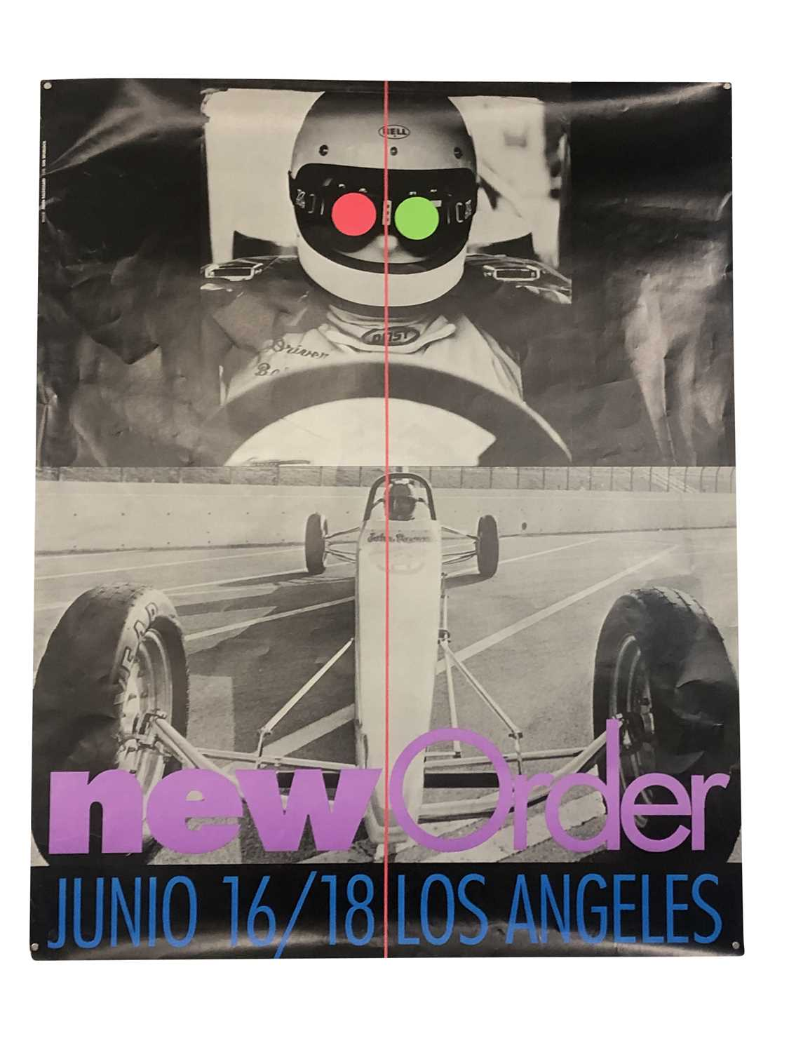 NEW ORDER PROMO & GIG POSTERS COLLECTION - Image 2 of 7