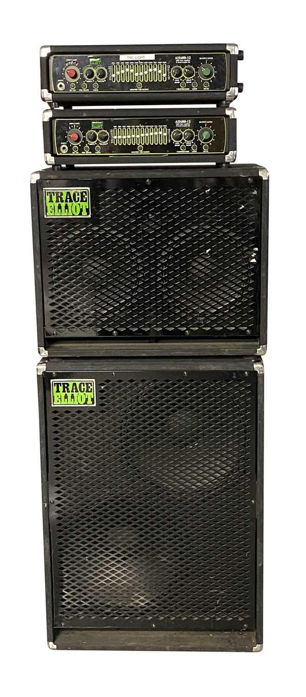 TRACE ELLIOT AMPS & SPEAKERS SETUP