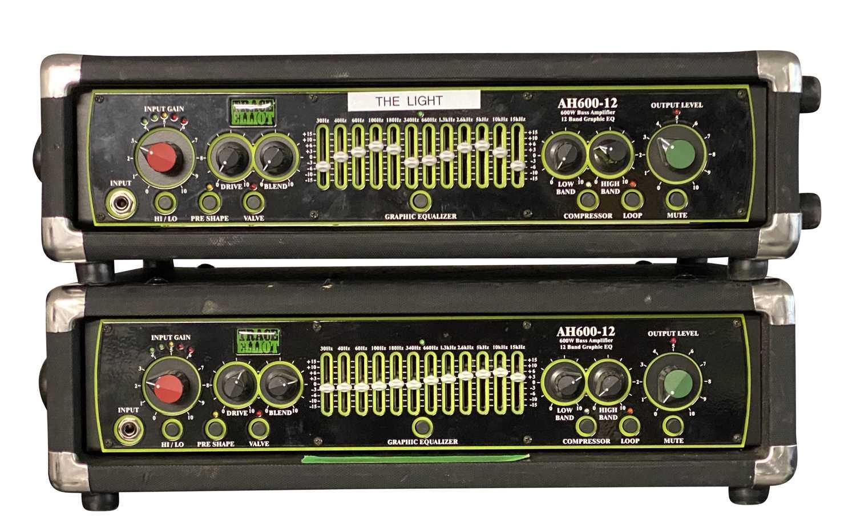 TRACE ELLIOT AMPS & SPEAKERS SETUP - Image 2 of 8