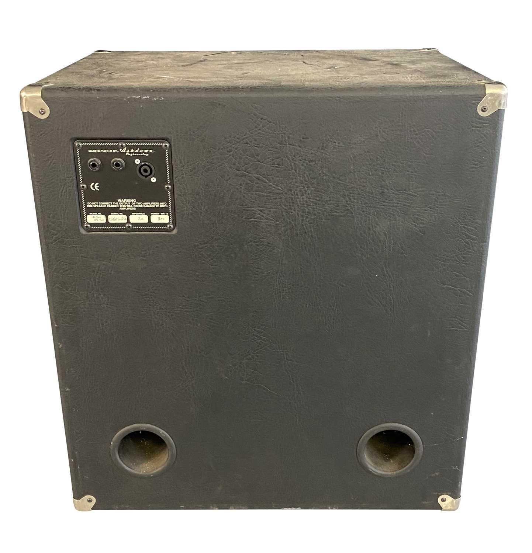 ASHDOWN D600 'SALFORD RULES' BASS GUITAR PRE-AMP & ASHDOWN 300W CAB SPEAKER - Image 4 of 4