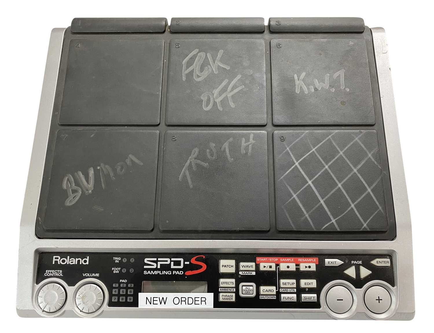 ROLAND DRUM ELECTRONIC SPD-S DRUM SAMPLING PADS x 2 - Image 3 of 4