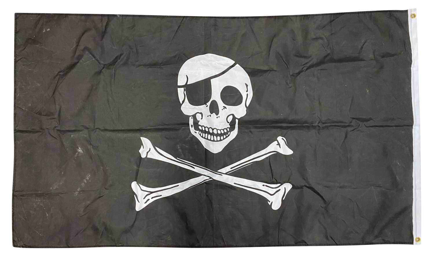 FLAGS FROM GIGS USED TO DRAPE OVER SPEAKERS