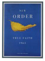 NEW ORDER TRUE FAITH 1963 ORIGINAL PROMO