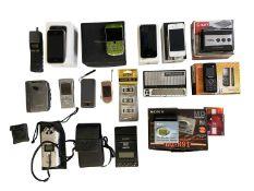 VINTAGE TECH EQUIPMENT INCLUDING MOBILE PHONES