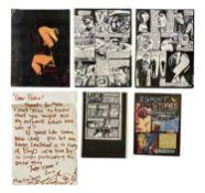 NEW ORDER COMIC BOOK ARTWORK BY ERIC KHOO PLUS JOY DIVISION CLOTHING