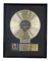 NEW ORDER RIAA GOLD AWARD FOR TECHNIQUE