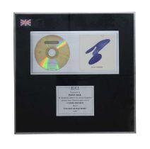 NEW ORDER (THE BEST OF) NEW ORDER BPI AWARD DISC
