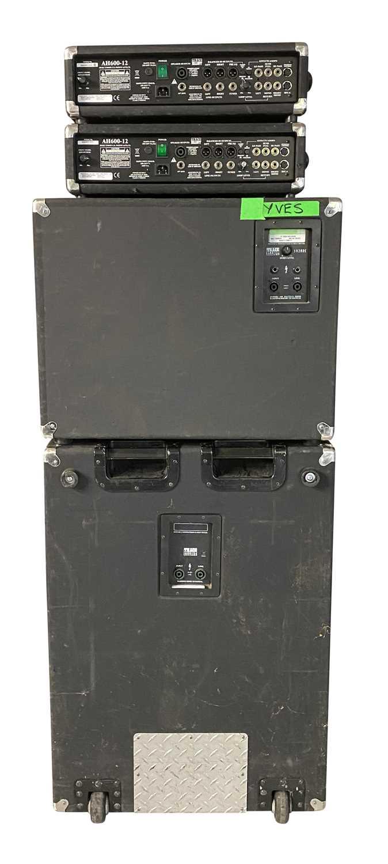 TRACE ELLIOT AMPS & SPEAKERS SETUP - Image 3 of 4